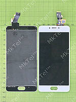 Дисплей Meizu M3s с сенсором Копия АА Белый