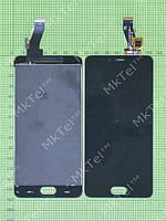 Дисплей Meizu M3s с сенсором Копия АА Черный