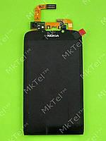 Дисплей Nokia 801T с сенсором Оригинал Китай Черный