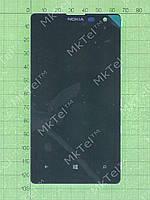 Дисплей Nokia Lumia 1020 с сенсором, панелью Оригинал элем. Черный