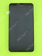 Дисплей Nokia Lumia 630 Dual SIM в сборе Оригинал Черный