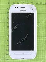 Дисплей Nokia Lumia 710 с сенсором, панелью Оригинал Б/У Белый