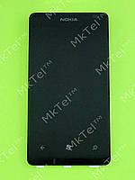 Дисплей Nokia Lumia 800 с сенсором Оригинал Б/У Черный