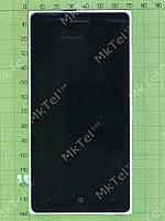 Дисплей Nokia Lumia 830 с сенсором, панелью Оригинал Б/У Серебрист.