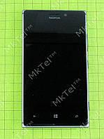Дисплей Nokia Lumia 925 в сборе Оригинал Б/У Черный