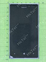 Дисплей Nokia Lumia 925 в сборе Оригинал Китай Черный