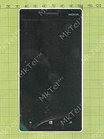 Дисплей Nokia Lumia 930 с сенсором, панелью Оригинал Серебрист.