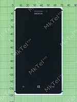 Дисплей Nokia Lumia 925 в сборе Оригинал Б/У Серебристый
