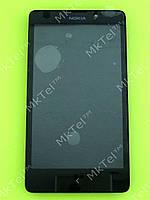 Дисплей Nokia XL Dual SIM с сенсором Оригинал (снято с произв.) Черный