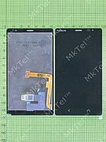 Дисплей Nokia X2 Dual SIM с сенсором Оригинал элем. Черный