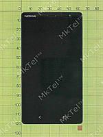 Дисплей Nokia X2 Dual SIM с сенсором, панелью Оригинал Черный