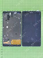Дисплей Nokia XL Dual SIM с сенсором Оригинал элем. Черный