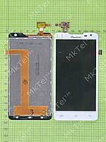 Дисплей Prestigio MultiPhone 5044 DUO с сенсором Оригинал Китай Белый