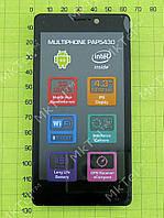 Дисплей Prestigio MultiPhone 5430 в сборе Оригинал Б/У Черный