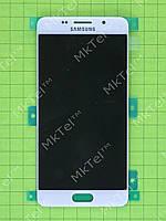 Дисплей Samsung Galaxy A5 SM-A510F с сенсором Оригинал Белый