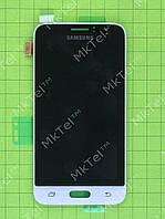 Дисплей Samsung Galaxy J1 SM-J120F с сенсором Оригинал Белый