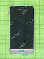 Дисплей Samsung Galaxy J1 SM-J120F с сенсором Оригинал Золотистый