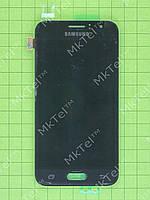 Дисплей Samsung Galaxy J1 SM-J120F с сенсор. Оригинал элем. Черный