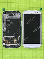 Дисплей Samsung Galaxy S3 i9300 в сборе Копия АА Белый