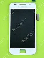 Дисплей Samsung Galaxy S i9000 с сенсором Оригинал элем. Белый