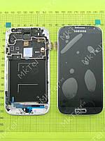 Дисплей Samsung Galaxy S4 i9500 в сборе Оригинал элем. Синий