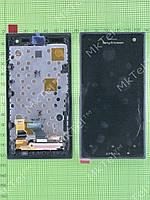 Дисплей Sony Xperia Acro S LT26W в сборе Оригинал Китай Черный