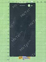Дисплей Sony Xperia C3 D2502 с сенсором Оригинал элем. Черный