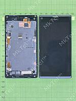 Дисплей Sony Xperia L S36h C2105 в сборе Оригинал Б/У Черный