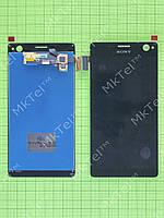Дисплей Sony Xperia C4 Dual E5333 с сенсором Копия АА Черный