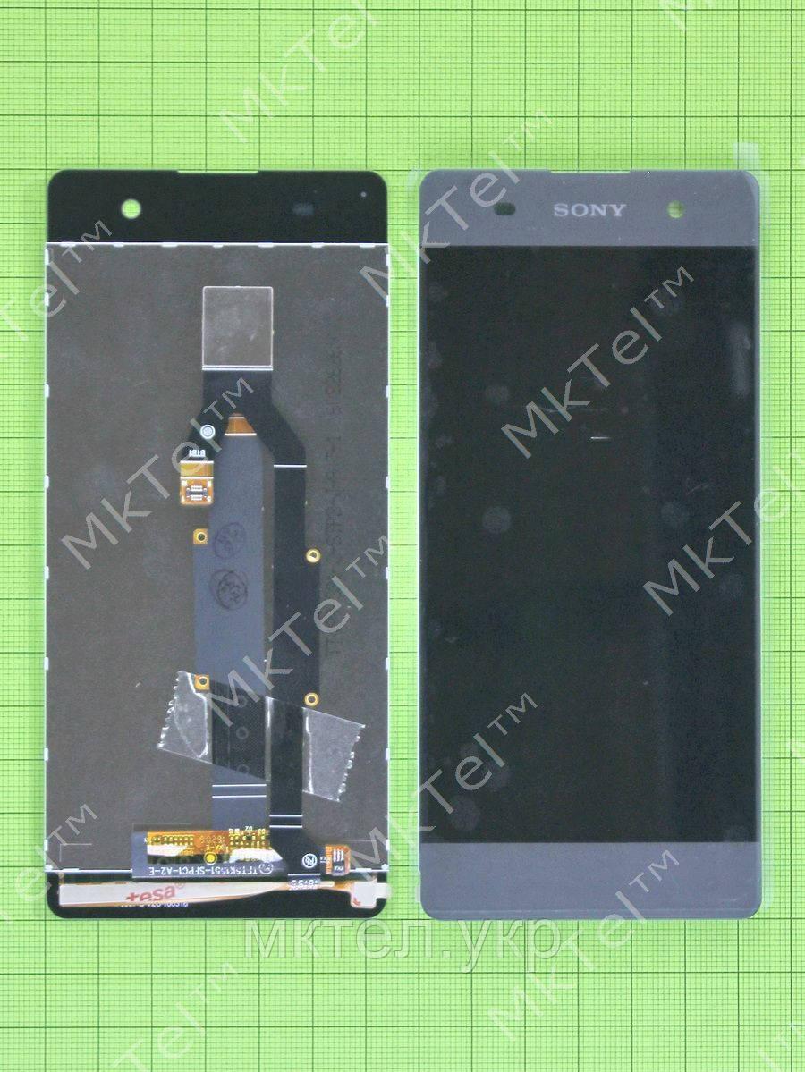 Дисплей Sony Xperia XA с сенсором, черный self-welded