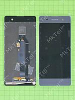 Дисплей Sony Xperia XA с сенсором Оригинал элем. Черный