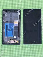 Дисплей Sony Xperia Z C6602 в сборе Оригинал Б/У Черный
