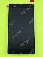Дисплей Sony Xperia Z C6602 с сенсором Оригинал Китай Черный