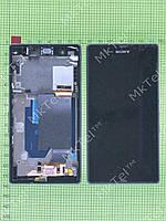 Дисплей Sony Xperia Z C6602 в сборе Копия А Черный