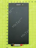 Дисплей Sony Xperia Z1 C6902 с сенсором Оригинал Китай Черный