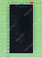 Дисплей Sony Xperia Z1 C6902 в сборе Оригинал элем. Белый