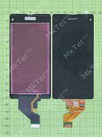 Дисплей Sony Xperia Z1 Compact D5503 с сенсором Копия АА Черный