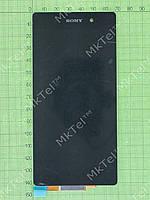 Дисплей Sony Xperia Z2 L50W с сенсором Оригинал элем. Черный