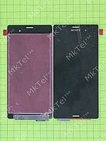 Дисплей Sony Xperia Z3 D6603 с сенсором Копия АА Черный
