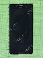 Дисплей Sony Xperia Z3 D6603 с сенсором Оригинал элем. Черный