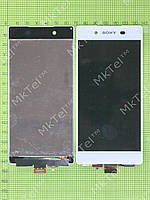 Дисплей Sony Xperia Z3 plus с сенсором Оригинал элем. Белый