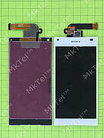 Дисплей Sony Xperia Z5 Compact E5823 с сенсором Копия АА Белый