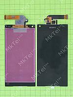 Дисплей Sony Xperia Z5 Compact E5823 с сенсором Копия АА Черный