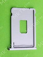 Держатель SIM карты iPhone 2G Оригинал Китай Серебристый