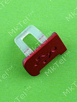 Заглушка разъема USB Nokia 5130, красный, Оригинал #9444185