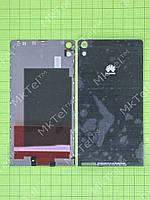 Задняя крышка Huawei Ascend P6 Оригинал элем. Черный