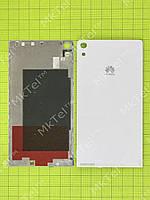 Задняя крышка Huawei Ascend P6 Оригинал элем. Белый