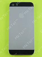 Задняя крышка iPhone 5S с кнопками Оригинал Китай Черный