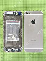 Задняя крышка iPhone 5S с кнопками (под iPhone 6) Оригинал Китай Золотистый