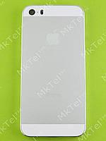 Задняя крышка iPhone 5S с кнопками, белый orig-china